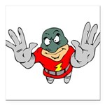 Superhero-Flying-12-[Conver.png Square Car Magnet