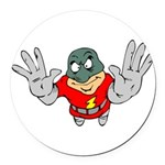 Superhero-Flying-12-[Conver.png Round Car Magnet