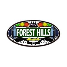 Forest Hills Queens NYC (White) Patches