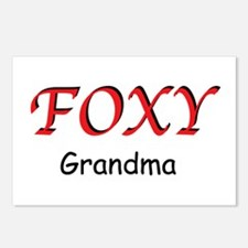 Foxy Grandma Postcards (Package of 8)