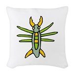 Bug-039-[Converted].png Woven Throw Pillow
