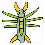 Bug-039-[Converted].png Square Car Magnet 3