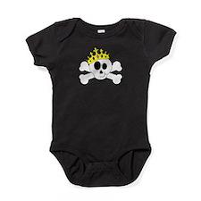 Princess Skull Baby Bodysuit