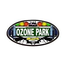 Ozone Park Queens NYC (White) Patches