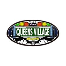 Queens Village Queens NYC (White) Patches