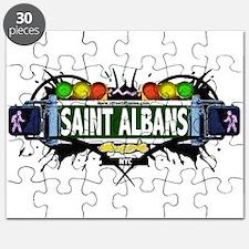 Saint Albans Queens NYC (White) Puzzle