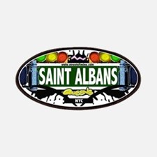 Saint Albans Queens NYC (White) Patches