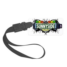 Sunnyside Queens NYC (White) Luggage Tag