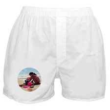 Drew at the beach 2006 Boxer Shorts