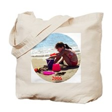 Drew at the beach 2006 Tote Bag