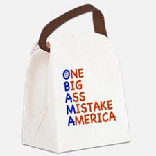 obama3.png Canvas Lunch Bag
