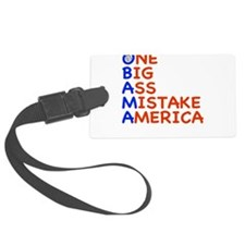 obama3.png Luggage Tag