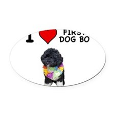 bo8.png Oval Car Magnet