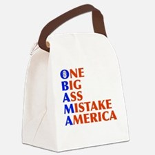 obama4.png Canvas Lunch Bag