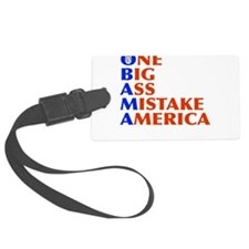 obama4.png Luggage Tag