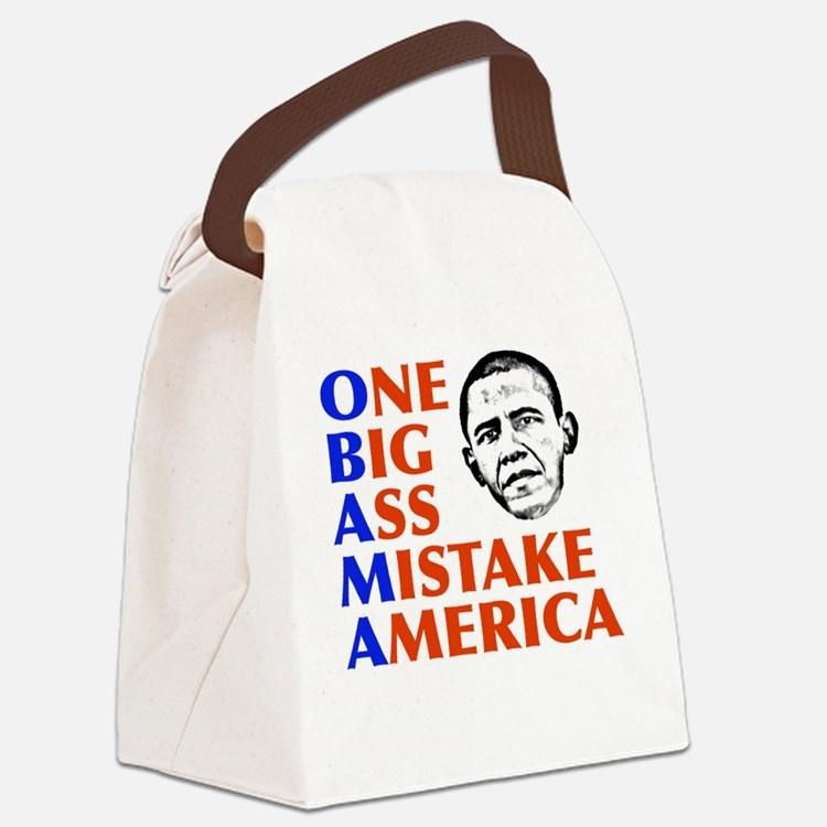 obama5.png Canvas Lunch Bag