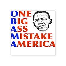 "obama5.png Square Sticker 3"" x 3"""