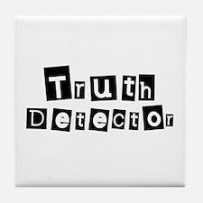 Truth Detector Tile Coaster