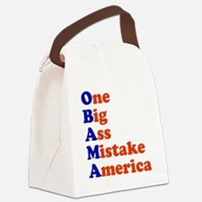 onebig4.png Canvas Lunch Bag