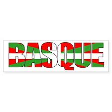 BASQUE! Bumper Bumper Sticker