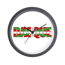 BASQUE! Wall Clock
