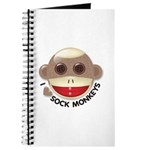 I Heart Love Sock Monkey Monkeys Journal