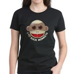 I Heart Love Sock Monkey Monkeys Women's Dark T-Sh
