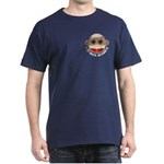 I Heart Love Sock Monkey Monkeys Dark T-Shirt