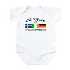 Swedish-Irish-German Infant Bodysuit