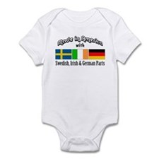Swedish-Irish-German Onesie