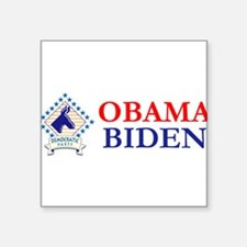 """Democratic-66667onverted].png Square Sticker 3"""" x"""