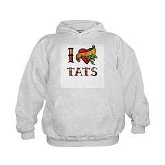 I LOVE TATS Hoodie