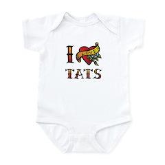 I LOVE TATS Infant Bodysuit