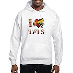 I LOVE TATS Hooded Sweatshirt