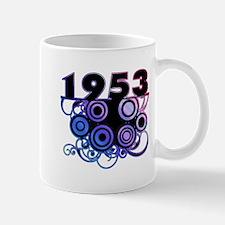1953 Birthday Cool Funky Art Mug