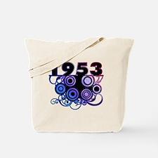 1953 Birthday Cool Funky Art Tote Bag