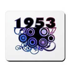 1953 Birthday Cool Funky Art Mousepad