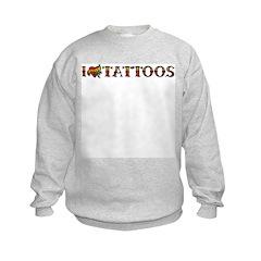 Love Tattoos Sweatshirt