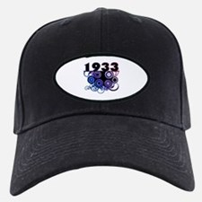 1933 Birthday Cool Funky Art Baseball Hat