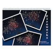 Fireworks Wall Calendar