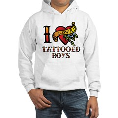 Tattooed Boys Hoodie