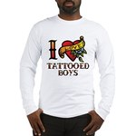 Tattooed Boys Long Sleeve T-Shirt