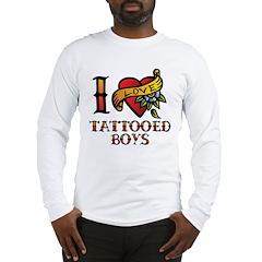 Tattooed Boys Long Sleeve T-Shirt