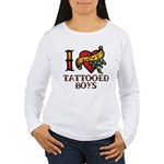 Tattooed Boys Women's Long Sleeve T-Shirt
