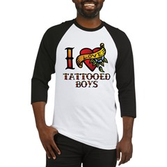 Tattooed Boys Baseball Jersey
