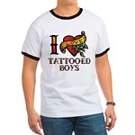 Tattooed Boys Ringer T