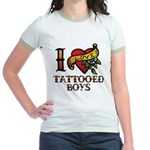 Tattooed Boys Jr. Ringer T-Shirt