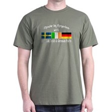 Swedish-Irish-German T-Shirt