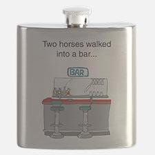 2 horses bar Flask