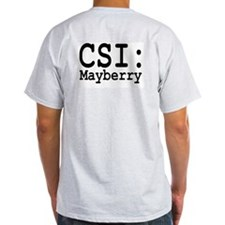 CSI: Mayberry Grey T
